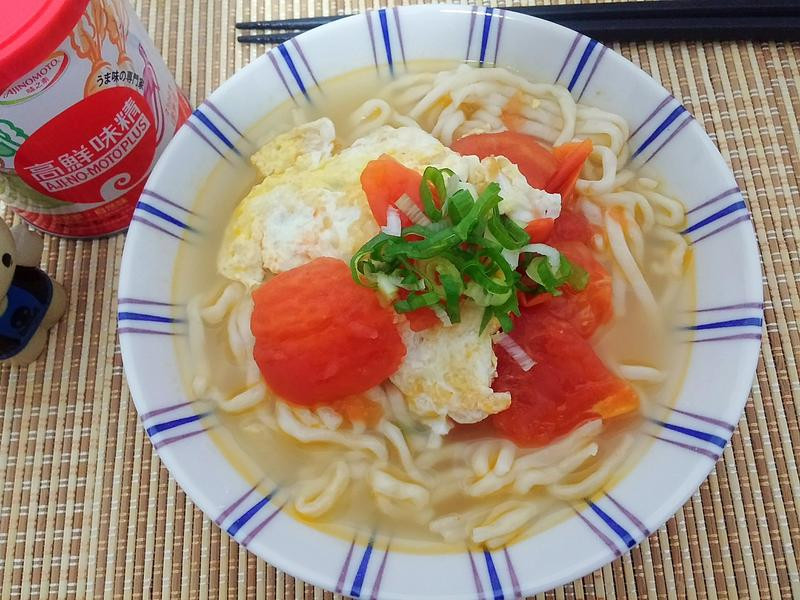 番茄蛋拉麵「味之素品牌」高鮮味精