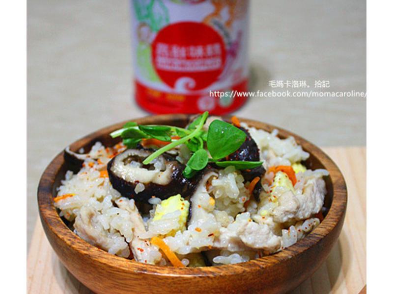 香菇肉絲炊飯「味之素品牌」高鮮味精