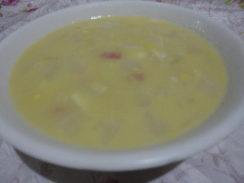 金莎苦瓜濃湯(好侍北海道白醬料理)