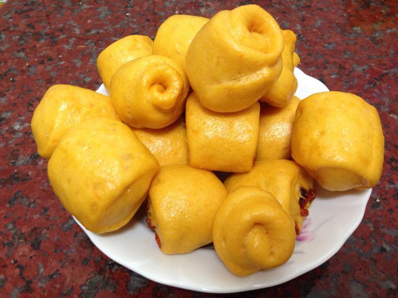 南瓜小饅頭(電鍋版)