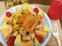 聖誔水果花圈盤_小七派對美食