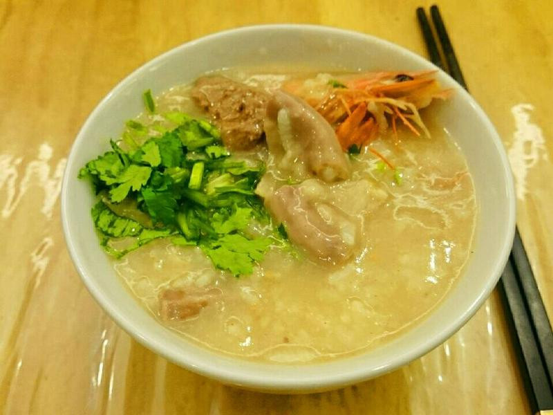 晏白蝦鍋粥