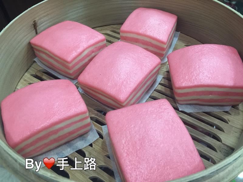 🍓偽蛋糕草莓千層饅頭🍓