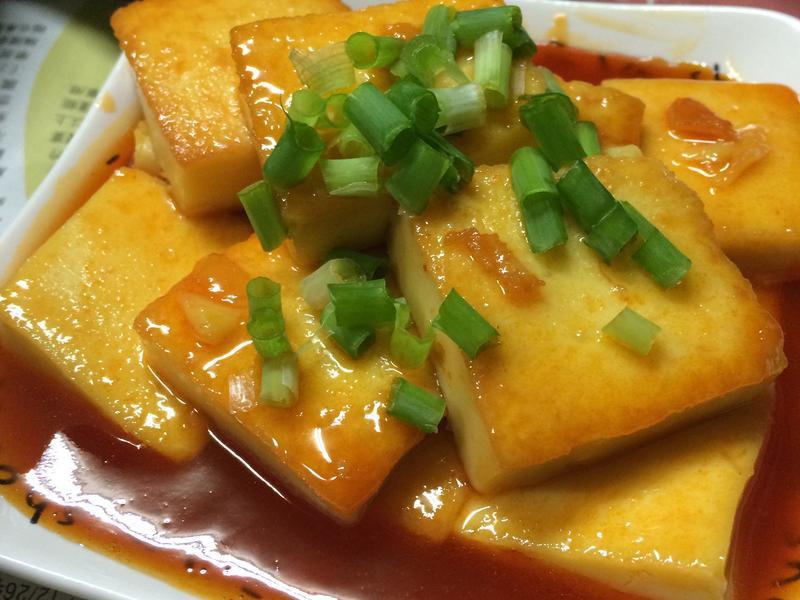 甜辣嫩豆腐