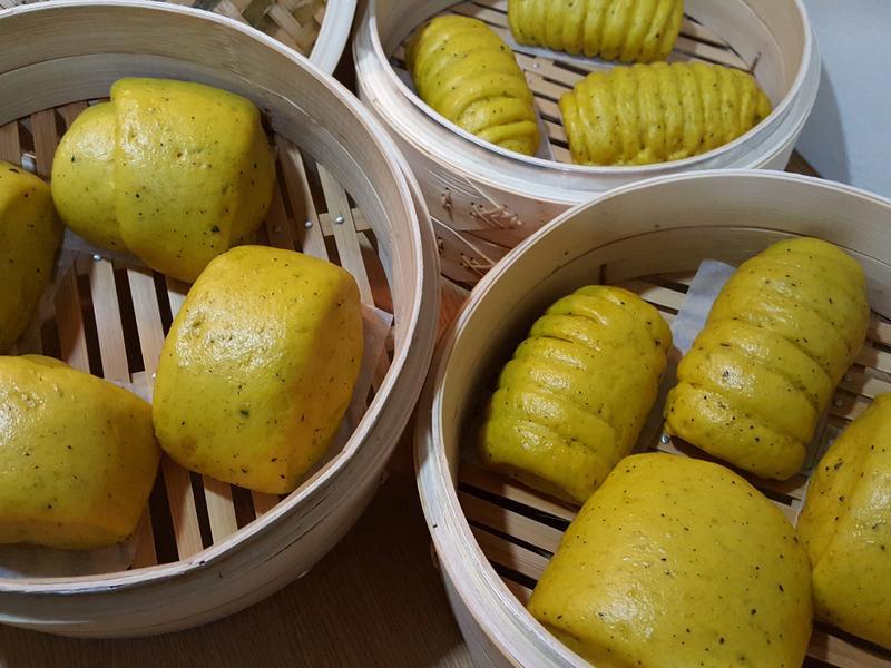 金黃南瓜饅頭