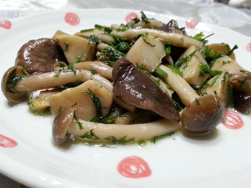 意式茴香炒菇