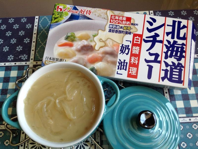 洋蔥濃湯【好侍北海道白醬料理】