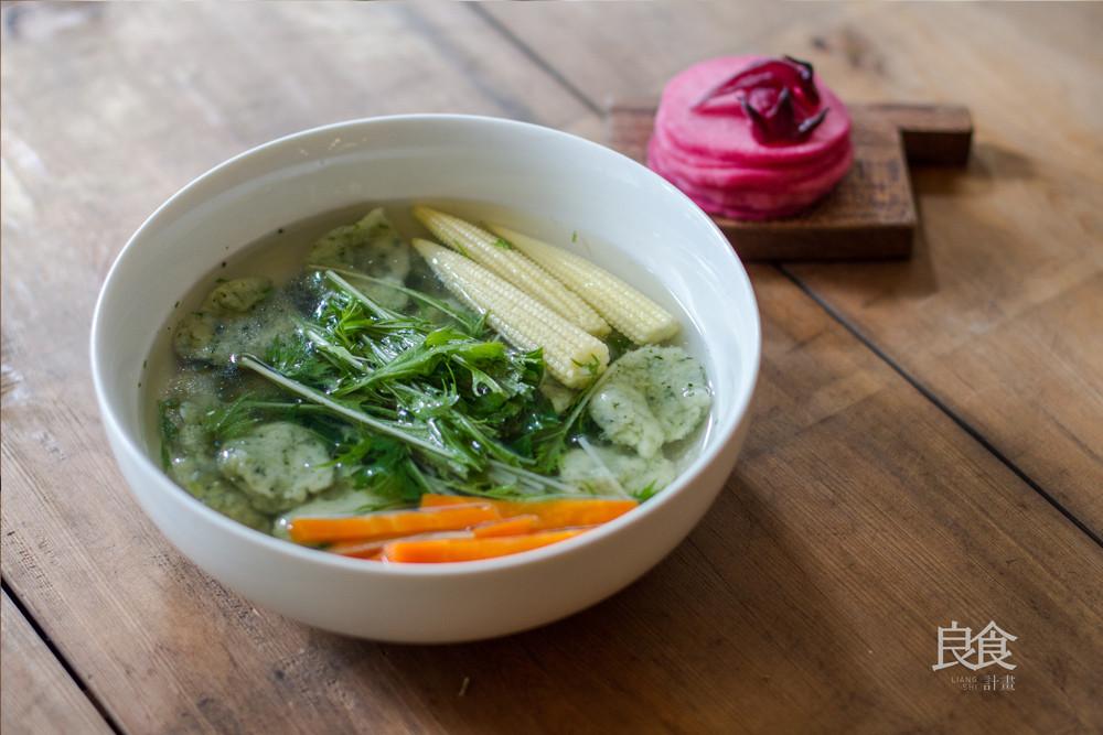 蔬菜湯麵疙瘩|營養手作