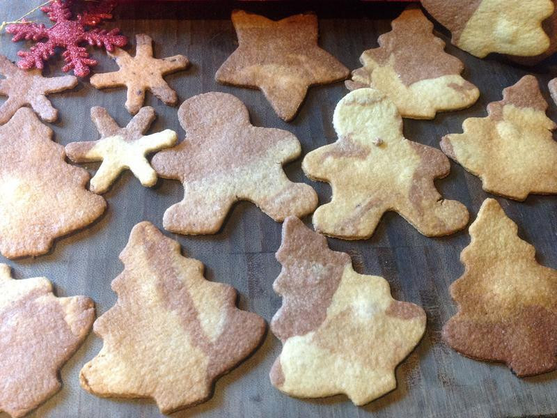 聖誕節繽紛4色餅乾❤!!!