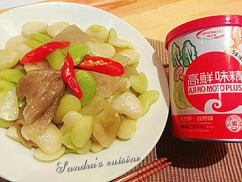 酸菜炒黃帝豆「味之素品牌」高鮮味精