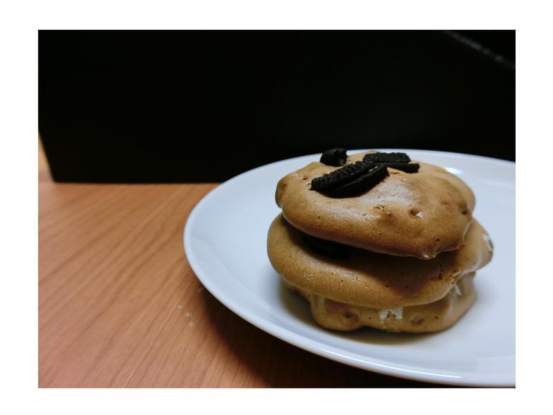 超簡單Oreo巧克力美式外酥內軟餅乾