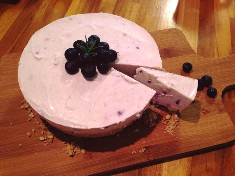 [免烤箱]藍莓起司蛋糕