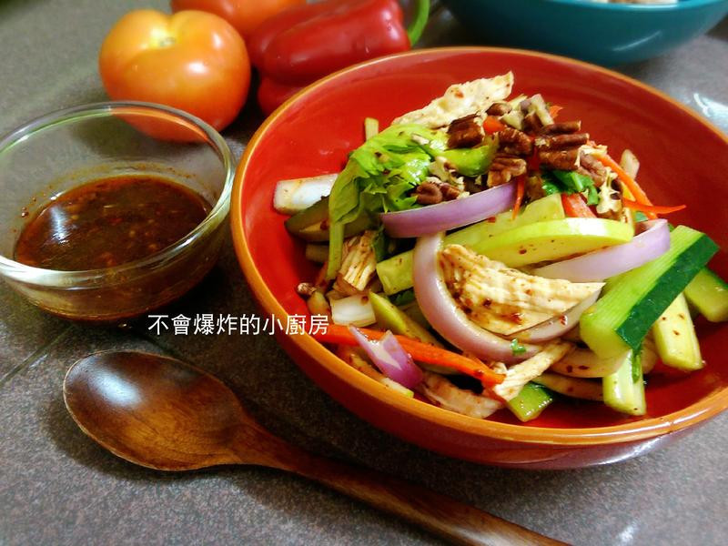 東洋風味雞肉沙拉