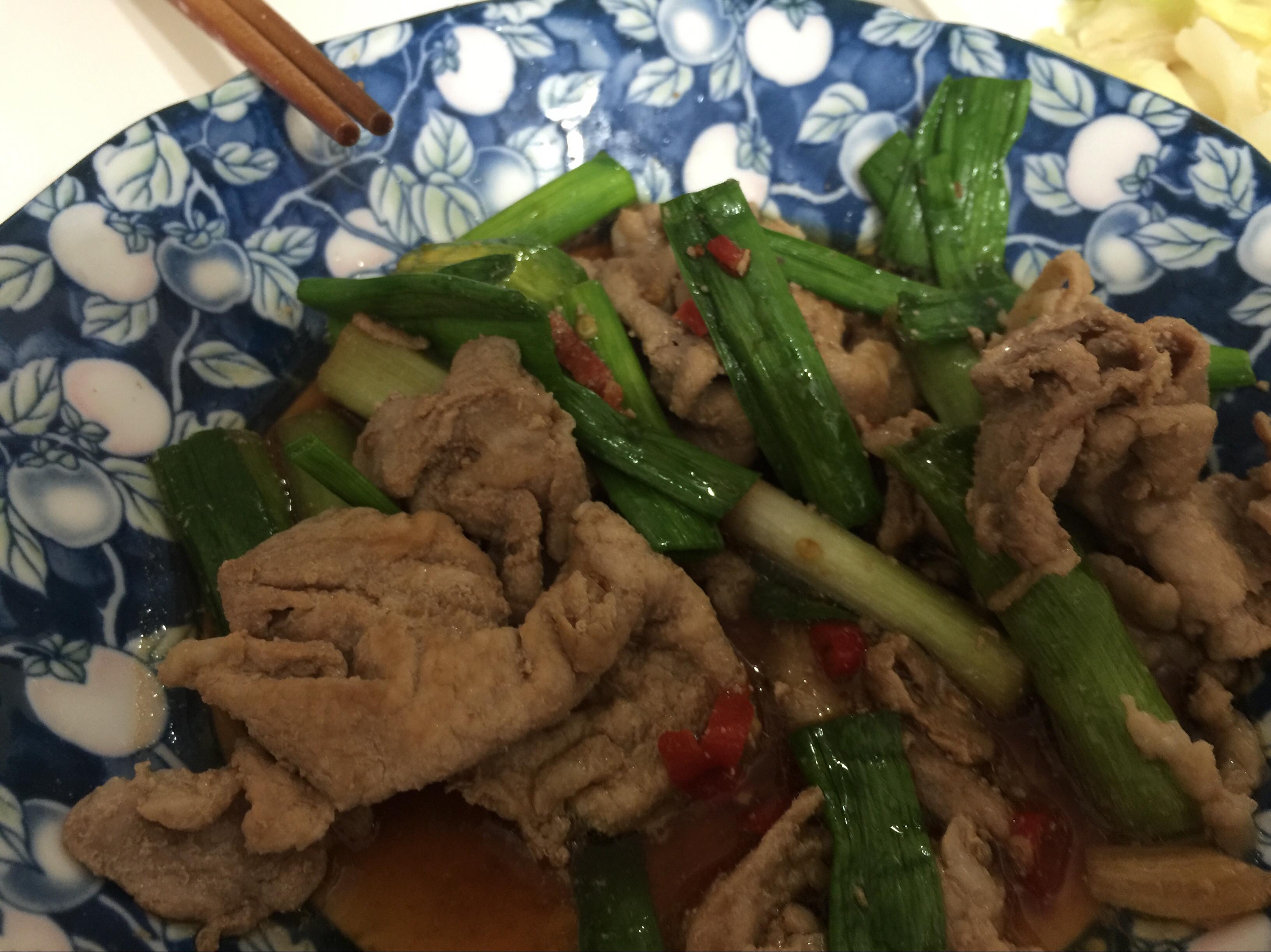 蒜香炒豬肉