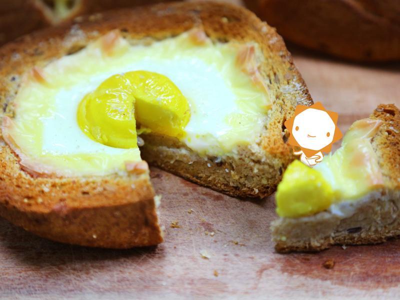 【第二個胃吃不飽】太陽蛋吐司