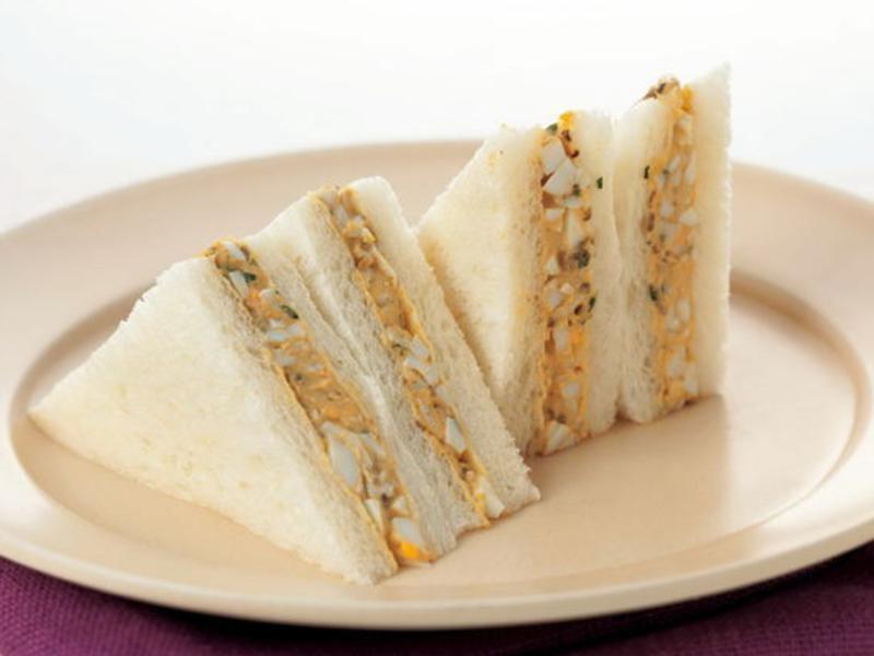 山椒水煮蛋三明治《新食感抹醬三明治》