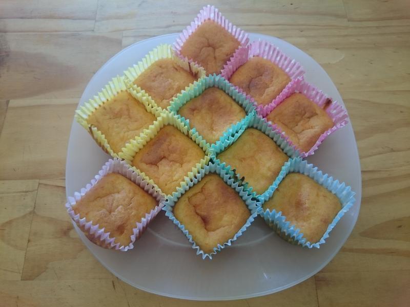 紅蘿蔔米蛋糕