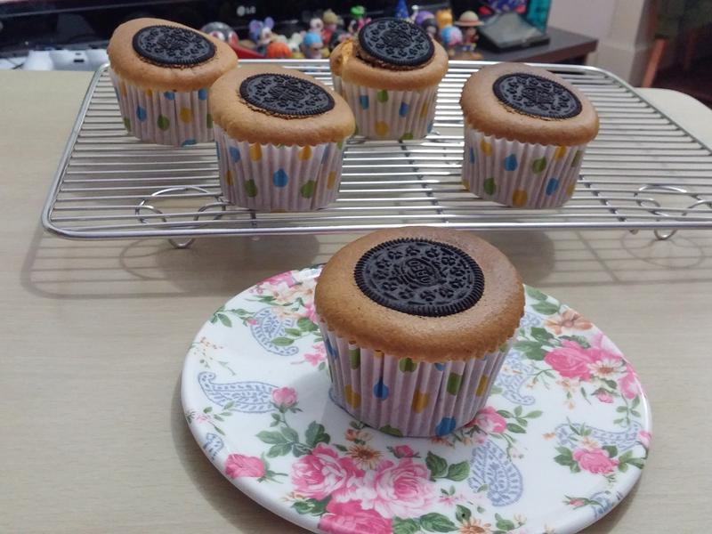 Oreo cupcakes奧利奧杯子蛋糕