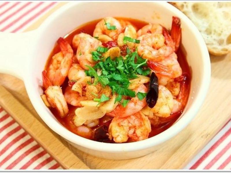 西班牙大蒜蝦