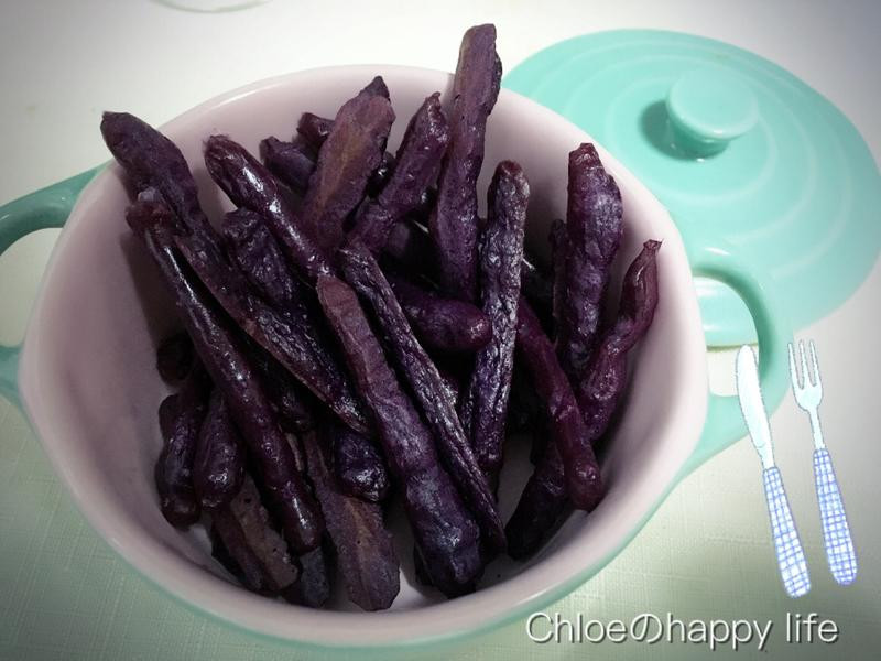 紫心地瓜米餅-手指食物寶寶副食品8M+