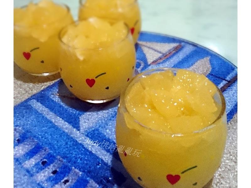 蜂蜜柳橙果凍