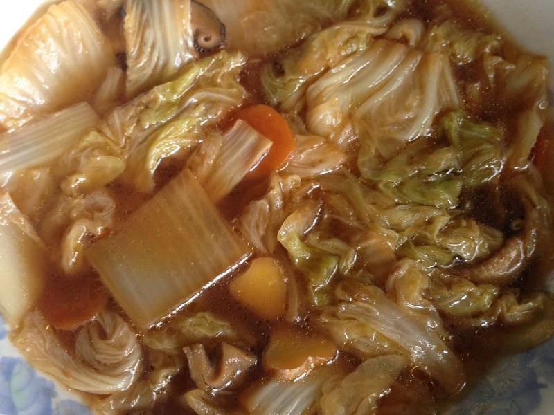白菜滷(素沙茶口味)