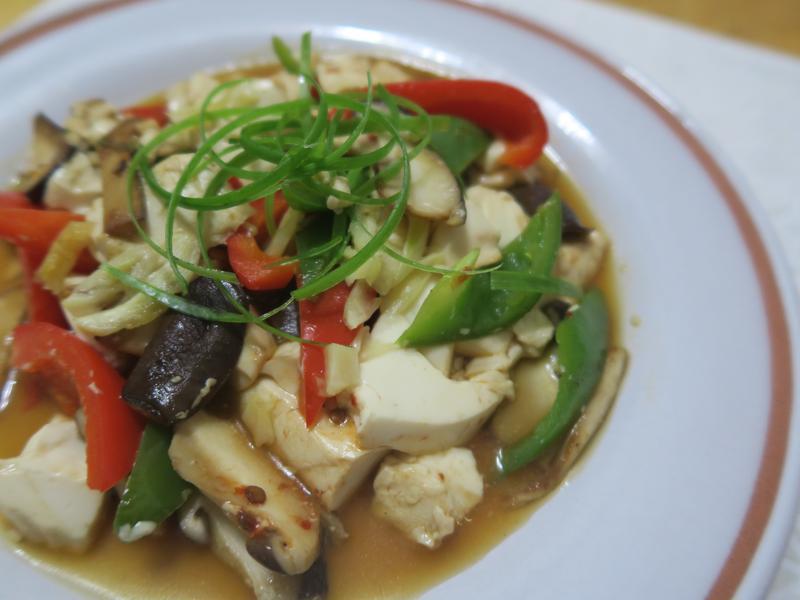 醬香什蔬豆腐-省錢料理,58大卡,20元
