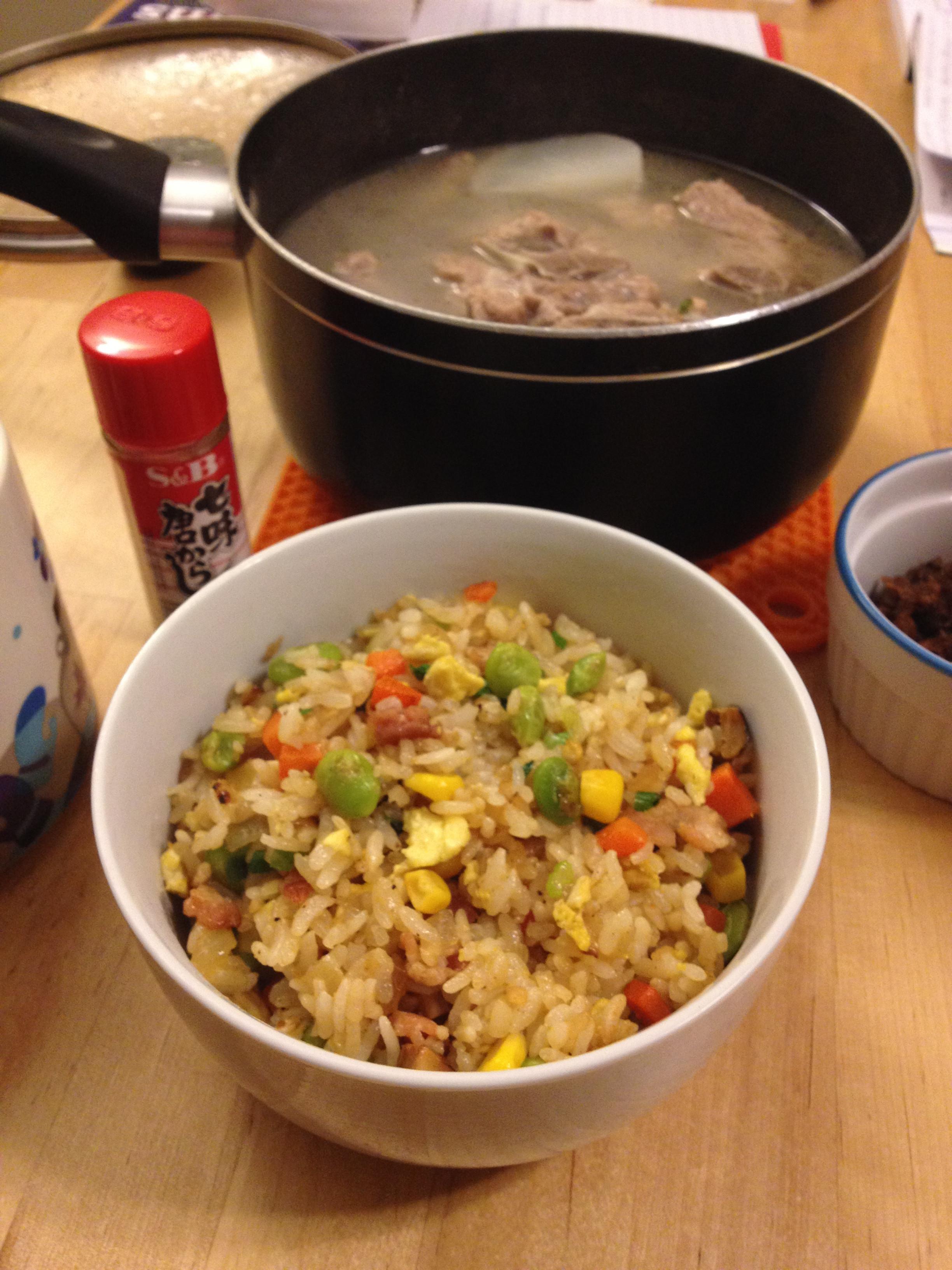 【主餐】簡單炒飯