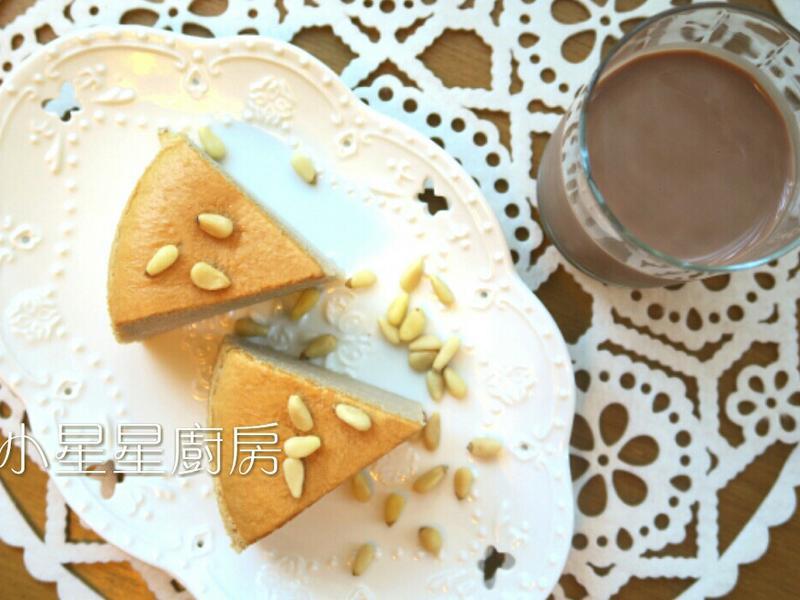 巧克力調味乳棉花蛋糕
