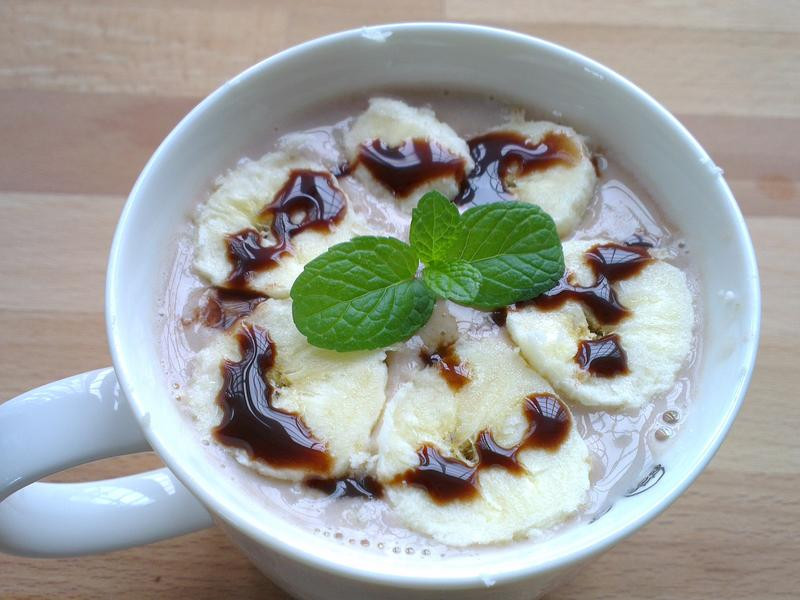 香蕉巧克力燕麥粥