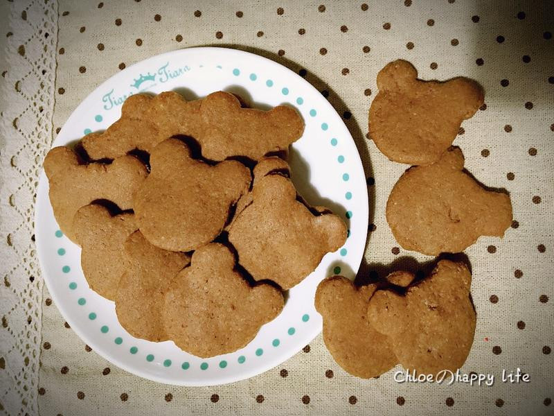 巧克力壓模小餅乾