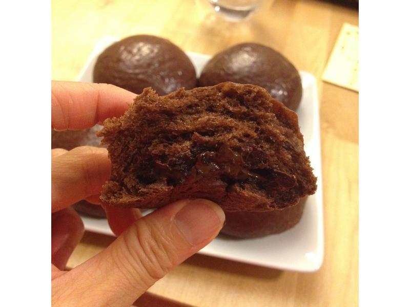 【手揉麵包】湯種黑眼豆豆