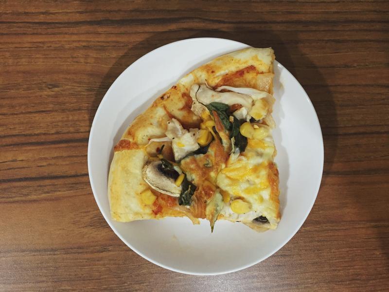 韓式辣醬泡菜披薩
