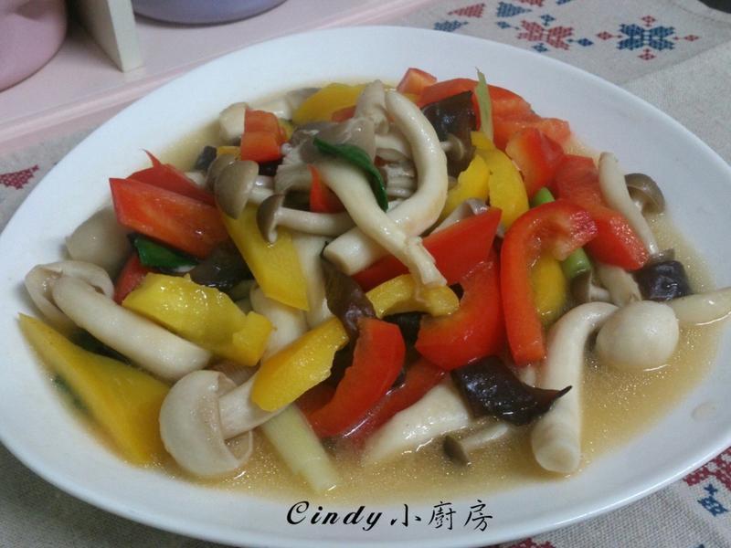 雙椒燴百菇