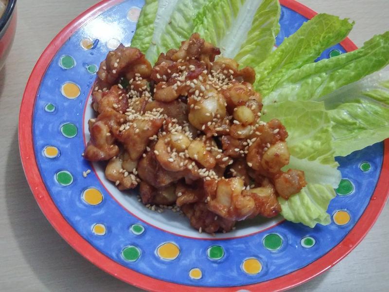 韓式辣醬雞軟骨