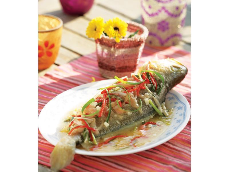 酸梅黃花魚