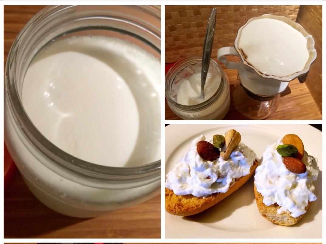 自製優酪乳、濃稠優格和乳清(悶燒鍋)