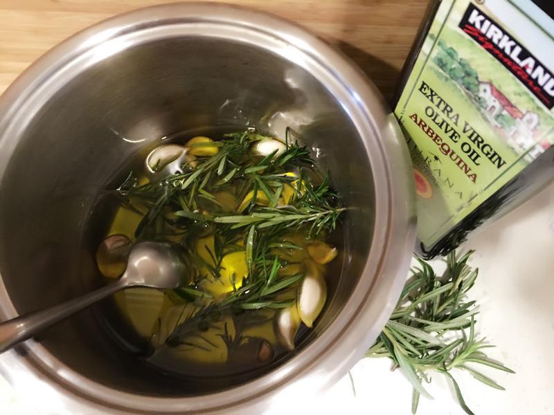 自製~迷迭香大蒜香料橄欖油~