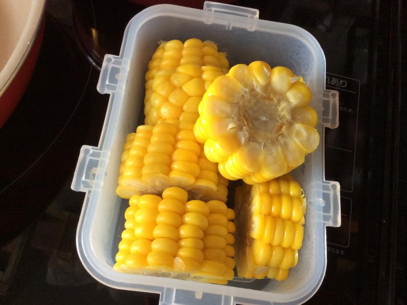 蒸玉米(電鍋版)