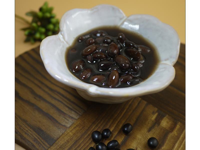 簡易蜜黑豆