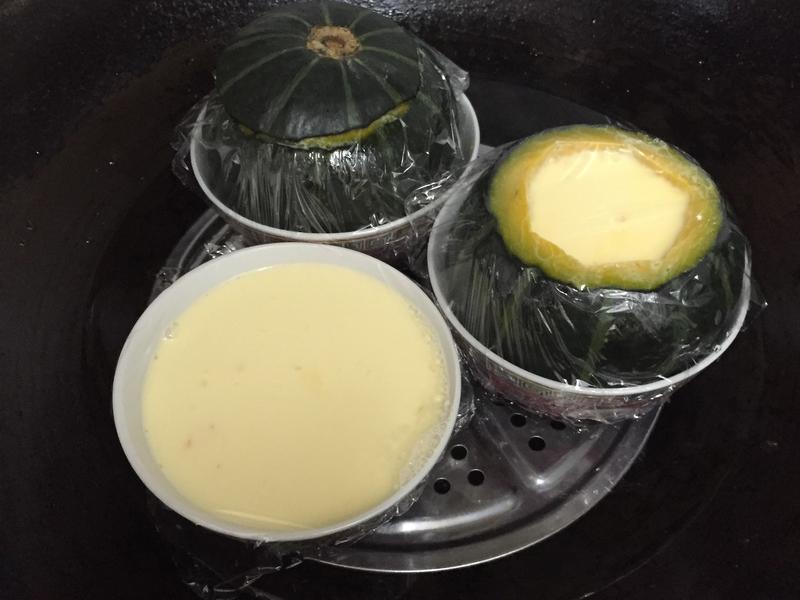 小南瓜法式燉蛋😋