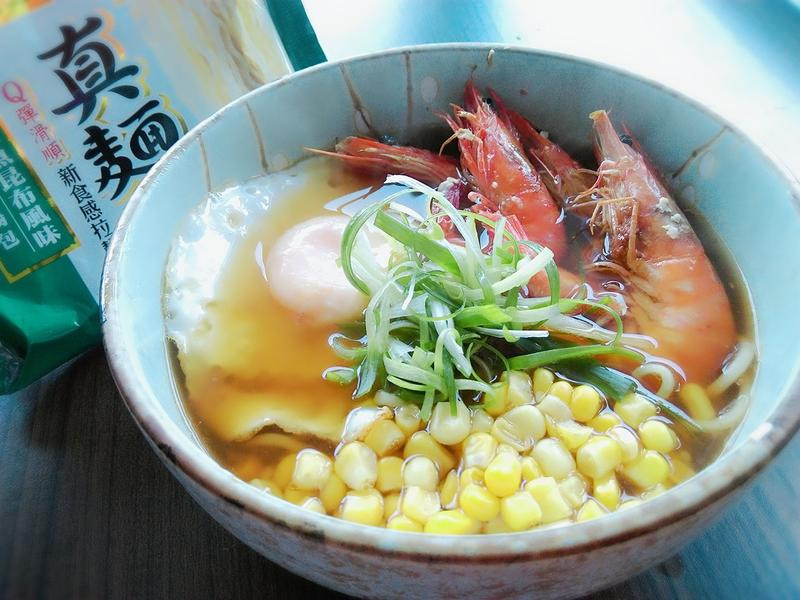 香煎蘆蝦和風拉麵-真麵堂