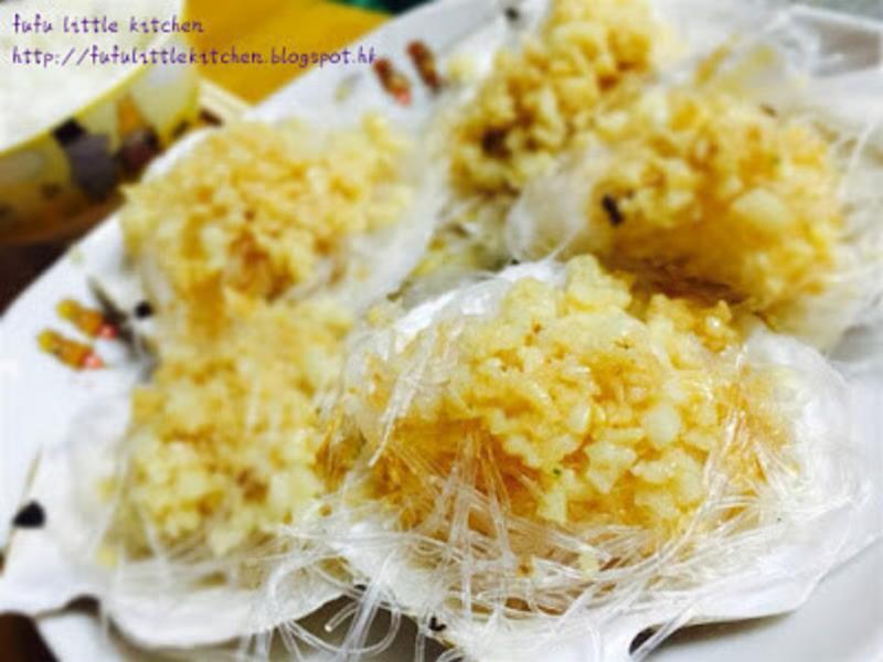 簡易宴客菜式 - 蒜蓉蒸扇貝