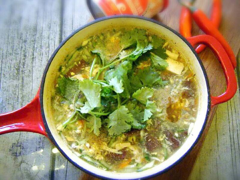 臭豆腐酸辣湯「味之素品牌」高鮮味精