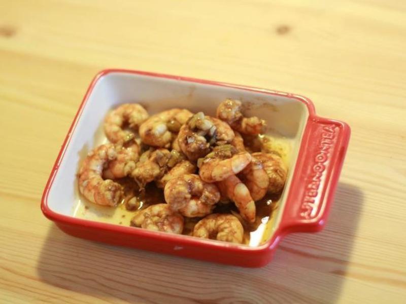 義式風味巴薩米克炒蝦