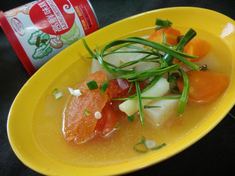 蔬菜什菜湯─「味之素品牌」高鮮味精