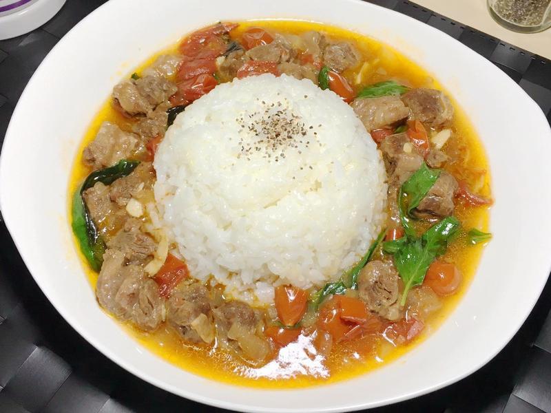 【小當家】異國超美味 番茄牛肉燴飯