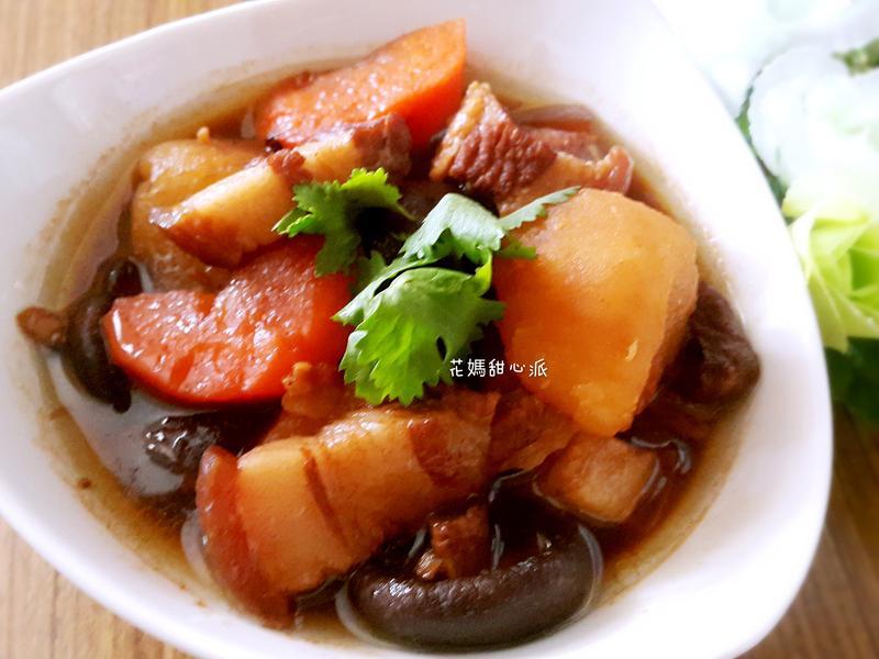 馬鈴薯香菇魯肉飯電鍋版