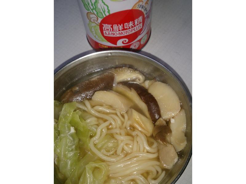 菇菇麵「味之素品牌」高鮮味精