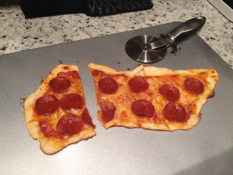 超簡單的在家做Pizza!
